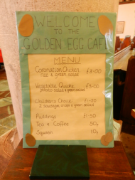 Golden Goose menu